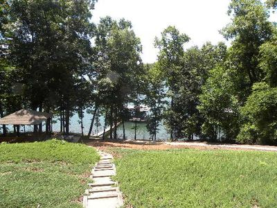 Photo for On Lake Hartwell in SC - 3 Bedroom Lake Front Home with Hot Tub!