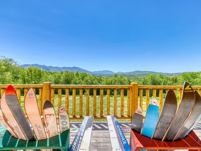 Photo for Award winning cabin with mountain views, near Cannon Mountain Ski Area