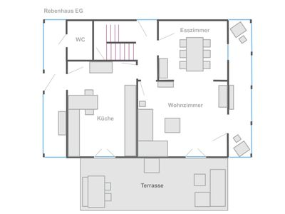 Photo for Rebenhaus, 3 Schlafzimmer, ca. 140qm, max. 5 Personen