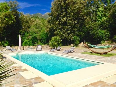 Photo for Modern Villa With Heated Pool - Saint Florent -