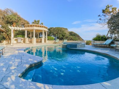 Photo for Classic Six Bedroom Oceanfront Home in Sea Pines with a Private Pool and Spa!