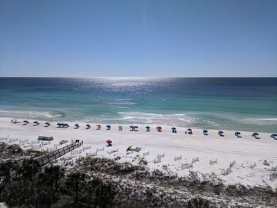 Your view from the balcony