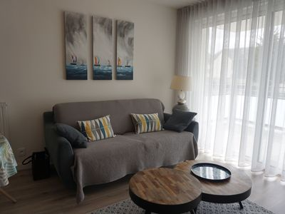Photo for VERY COMFORTABLE T2, new, 5 mn walk Port Crouesty