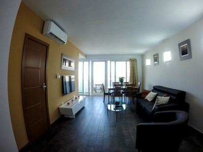 Photo for Well Located, Bright and Airy One-Bedroom Apartment in St. Julian's