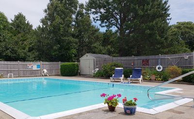 Photo for Dennis - Perfectly located this 1 bedroom condo with shared pool