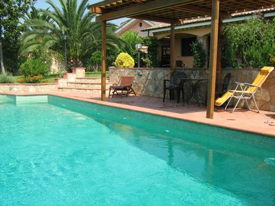 Photo for Comfortable villa with private pool near the sea and near Rome