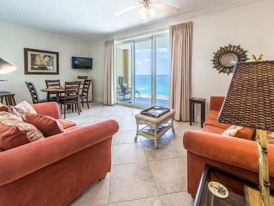 Photo for ☀Private Beach @ Twin Palms 1403☀1BR/2BA-Beachfront Pool-OPEN May 25 to 27 $678!