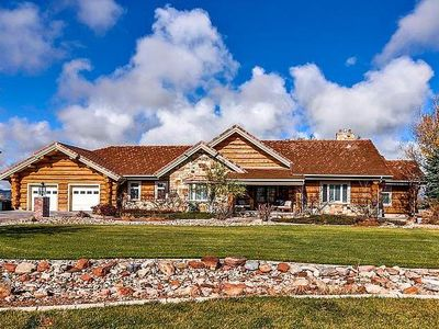 Photo for 7800 SQ FT LOG HOME RETREAT ON 10 AC.