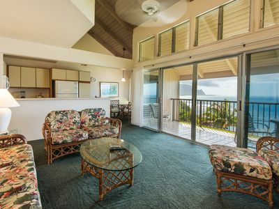 Comfortable two bedroom condo located in the Princeville Resort at Pali Ke Ku