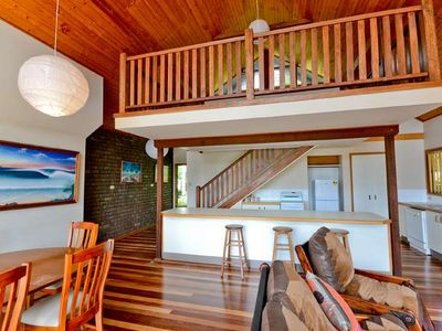 Photo for Relaxing stay in beautiful Angourie - gorgeous natural style unit with loft!