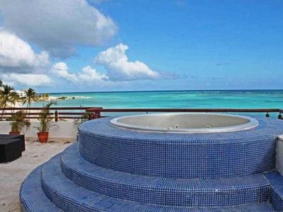 Photo for Private Beach View 3 Bedroom Penthouse!