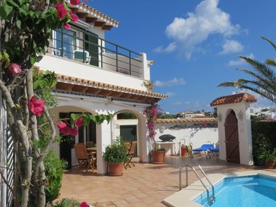 Photo for Private 4 Bedroom Villa With Pool, Secluded Garden, harbour view, air con