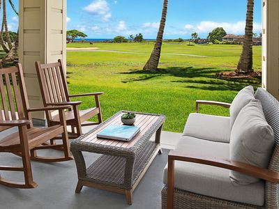 Photo for Pili Mai Resort at Poipu #08F: New Unit! Central AC! Pool, Spa & Fitness Center!