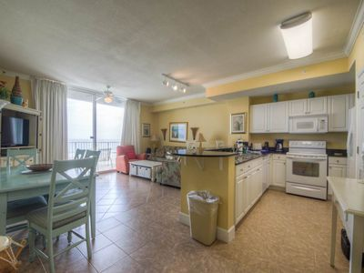 Photo for Charming, waterfront condo w/ shared pools, a fitness center, & beach access
