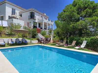 Photo for Amazing sea views and tranquility. Close to beaches and Estepona. Sleeps 6.
