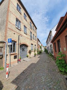 Photo for In the heart of the town Eckernförde, only 50m from the harbor, is the spacious, charming apartment in the 2nd. First floor of a historic office building. Lots of space and comfort for 4 persons, also with dog!