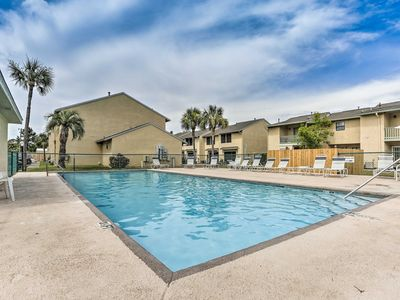 Photo for NEW! Resort Townhome w/Patio - 0.3 Miles To Beach!
