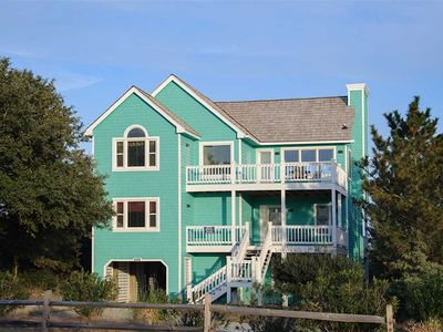 Photo for Sunset Serenity: 5 BR / 4 BA house in Nags Head, Sleeps 10