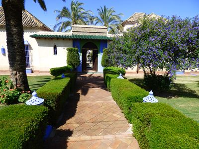 Photo for HOUSE OF DREAM 8Km from SEVILLA Andalusian Patios and Gardens with Private Pool