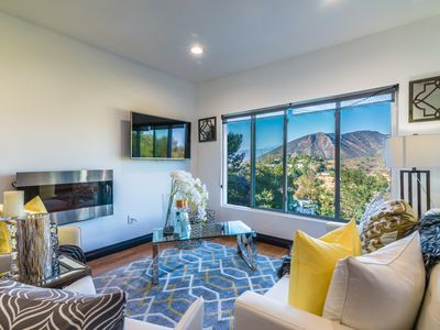 Photo for Hollywood Hills 2BR Modern Retreat, Location! Views! Parking!