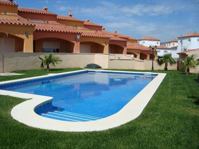 Photo for Attached house with shared swimming pool