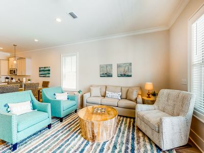 Photo for Warm and inviting home w/ private balcony & lots of space - close to the beach!
