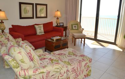Photo for E904 Dunes of Panama Vacation Rentals and Two Beach chairs included for June & July 2018  rentals