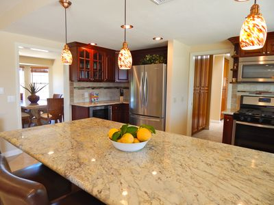 Photo for PRIVATE GATED SINGLE STORY HOME WITH POOL/SPA/VIEWS