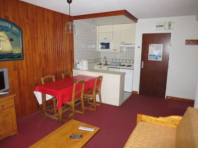 Photo for 2  ROOM APARTMENT  WITH TERRACE AT 50M OF THE SKI LIFTS SOUTH-WEST FACING - CURLING A1 12