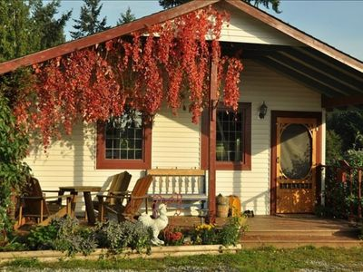 Photo for Charming Country Cottage Getaway in Yellowpoint - 15 Min to Nanaimo