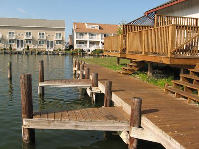 Photo for Waterfront Townhouse with boat slip
