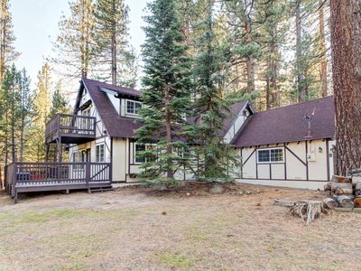 Photo for Remodeled dog-friendly home w/ private hot tub & jetted tub in master bath!