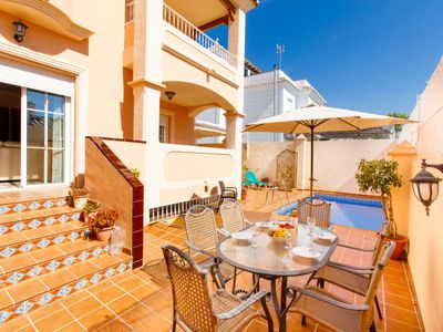Photo for Vacation home La Buganvilla in Nerja - 9 persons, 5 bedrooms