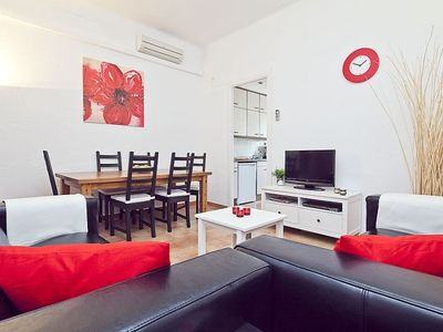 Photo for Apartment in Barcelona with Air conditioning, Balcony, Washing machine (496428)
