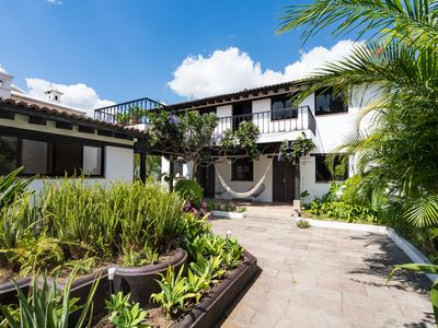 Photo for 4 BR house central Antigua, heated pool and garden