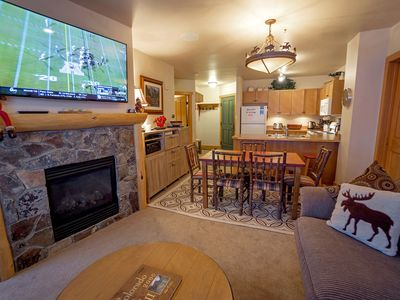 Ski in/Out! Gold Rated, Corner, plus sized unit, King BR & 4 Bunks, Great Views!