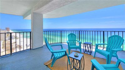 Photo for Spectacular Gulf Coast Views From This 17th Floor Unit With Spacious Balcony