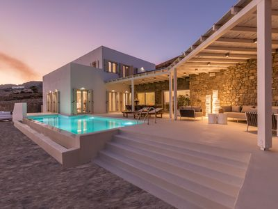 Photo for G Villa, Elia Beach, Mykonos. Welcome to the ultimate villa experience