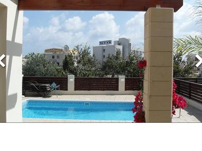 Photo for Fantastic Villa, Near to All Amenities in Pernera, 200 Meters from the Beach.