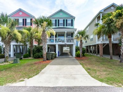 Photo for Sherbet Hermit, 5BR with Private Pool, Can be Heated, 75 Steps to Beach, Small Dog ok w/fee