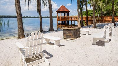 Photo for 3 BDRM~ SLEEPS 8~ ON LAKE BRYAN (BEACH)~ 6 MILES TO DISNEY~ 5 MILES TO SEAWORLD
