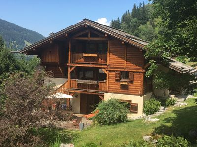 Photo for Luxury 4* Chalet - 14 guests - with Garden and SAUNA - at Montblanc's foot