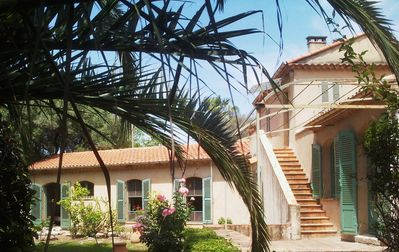 Photo for Provencal villa Cap d'Antibes 200 m from the beach 5 bedrooms 9 persons