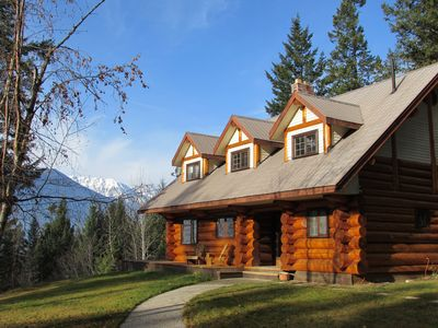 Photo for Log Home Getaway with Incredible Mountain Views