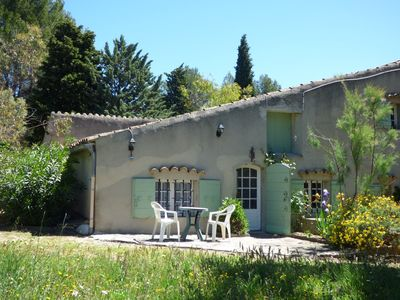 Photo for Apartment / studio 2 room + bathroom of 45M2 ds charming Provencal Mas