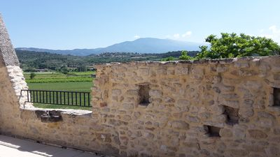 Photo for Large village house at the foot of Mont Ventoux