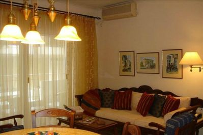 Relax in between sites and at end of day in our comfortable Living Room.