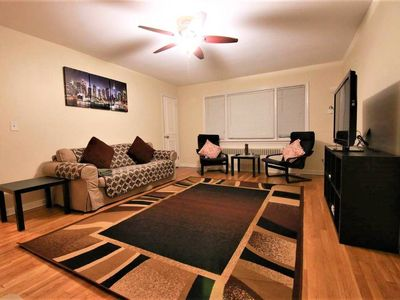Photo for 1200 SQ FT ELEGANT 3 BED, 15 MINS to Times Square NYC, Parking