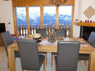 Photo for Apartment in the center of Nendaz with Lift, Parking, Internet, Washing machine (756496)