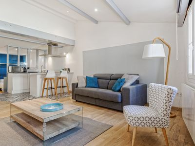 Photo for Nice flat with a loft spirit at the heart of Panier, in Marseille - Welkeys